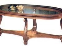 Стол журнальный со стеклом арт.105