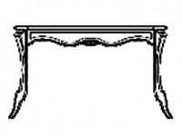 3107 Туалетный столик