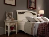 Кровать, изголовье с ковкой без изножья Palazzo Ducale laccato