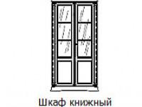 71CI02LB Библиотека 2-х дверная