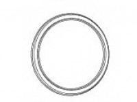 B567 Зеркало круглое