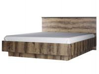 Кровать с деревянным изголовьем и подъёмным механизмом Jagger