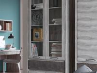 Витрина 4-х дверная с 1 ящиком Jazz