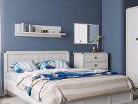 Кровать с основанием Magellan сосна винтаж
