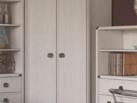 Шкаф 2-х дверный угловой Magellan сосна винтаж