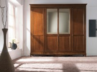 Шкаф 4-х дверный с зеркалом My Classic Dream