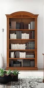 Книжный шкаф с 4 полками Nabucco