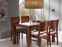 Стол прямоугольный со стеклом Penelope