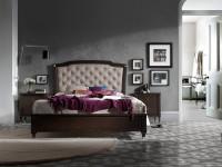 Кровать с мягким изголовьем (пуговицы) Pasion Titanic