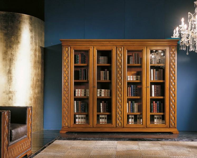 Книжный шкаф на низких ножках, bakokko - мебель мр.
