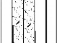 Арт. 1017AG Шкаф 4-х дверный, 2 зеркала
