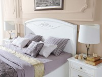 Кровать без изножья  San Remo Bianco