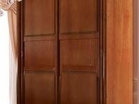 Шкаф-купе 2-х дверный без зеркал Сильвия Орех