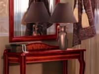 Туалетный столик с декором Сильвия орех