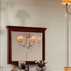 Зеркало прямоугольное L100 Сильвия орех