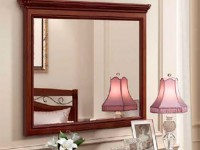 Зеркало прямоугольное L130 Сильвия Орех