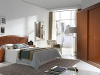 Кровать Valencia с орнаментом и широким изголовьем