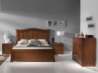 Кровать Valencia Tablero вишня