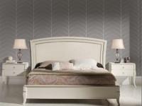 """Кровать Valeria с деревянным изголовьем """"Toscana"""""""