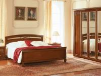 Кровать 160 с прямым изножьем Venezia