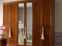 Арт. 10A2183, Шкаф 6дв с 2мя зеркалами и декором H252