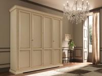 Шкаф 4-х дверный Palazzo Ducale laccato