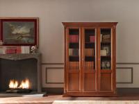 Арт. 71CI03LB Шкаф книжный 3-х дверный Palazzo Ducale