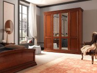Шкаф 4-х дверный Palazzo Ducale Ciliegio