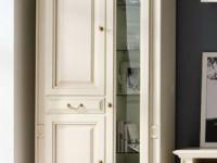 Витрина 2-х дверная малая Nabucco Avorio