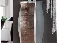 Арт. ZR 0741 Высокий комод Athena