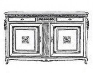 Буфет 2-х дверный Palazzo Ducale