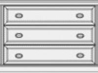 Комод 3 ящика Venezia