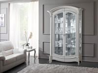 Витрина 2-х дверная с подсветкой Prestige Laccato
