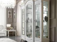 Витрина 3-х дверная с подсветкой Prestige Laccato