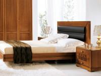Кровать Lago di Garda спинка кожа