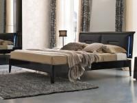 Кровать Prisma(чёрный лак) 160*195