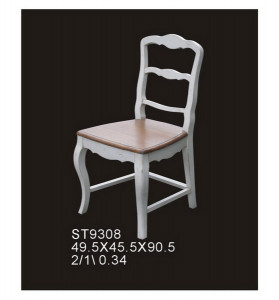 Стул с деревянным сиденьем ST 9308