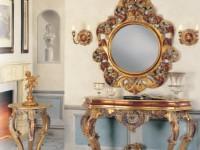 Консоль, зеркало, подставка под цветы Athena