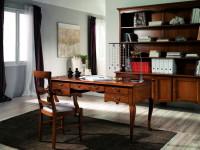 Книжный шкаф, стол и полукресло Day Zone
