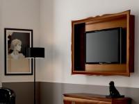 Панель для ТВ подвесная без полок Symfonia noce