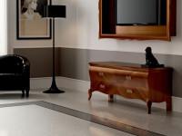 Тумба ТВ напольная  маленькая Symfonia noce