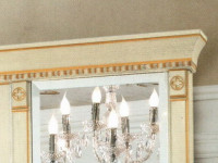 Комплект карнизов для стеновой панели 40 PALAZZO DUCALE Laccato