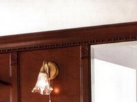 Комплект карнизов для стеновой панели 60+40+60 PALAZZO DUCALE Ciliegio