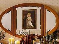 Зеркало овальное Шопен