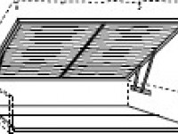 BO70210 Решетка с подъемным механизмом и основание контейнера Bohemia