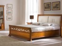 BO21120 Кровать с кожаным изголовьем Bohemia