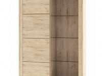 Шкаф комбинированный 1V1D Оскар дуб санремо