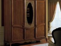 Шкаф Marie Claire 3 дв. с овальным зеркалом