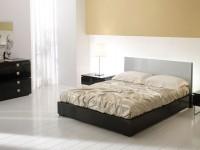Спальня Mercantini черный глянцевый лак