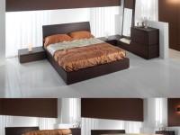 Кровать Mercantini материал Rovere Oak
